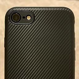 Amazon Co Jp カスタマーレビュー J Jecent Iphone 5s ケース Iphone Se ケース Iphone5 ケース シリコン Tpu素材 耐衝撃 落下 衝撃吸収 薄型 軽量 全面保護 指紋防止 炭素繊維シリコンケース Iphone 5s Se 5カバー 黒