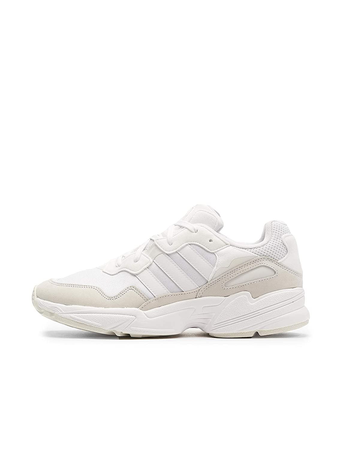 blanc adidas Yung-96 Ee3681, paniers Basses Homme