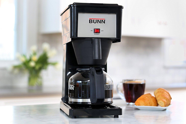BUNN GRB Velocity Brew 10-Cup Home Coffee Brewer, Black by BUNN (Image #2)