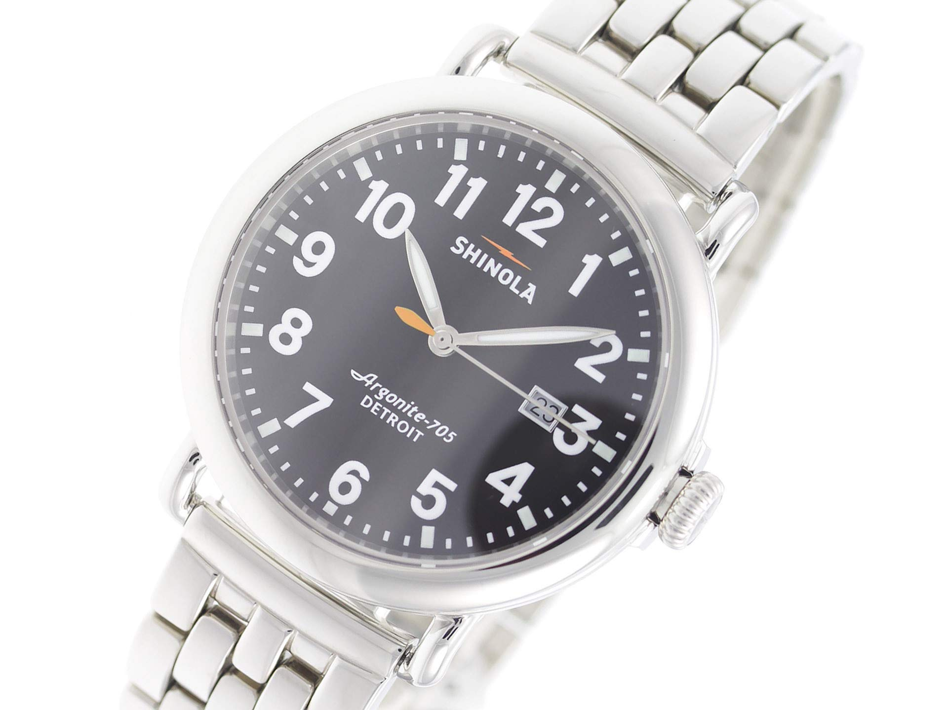 Shinola The Runwell Quartz Male Watch 10000053 (Certified Pre-Owned)