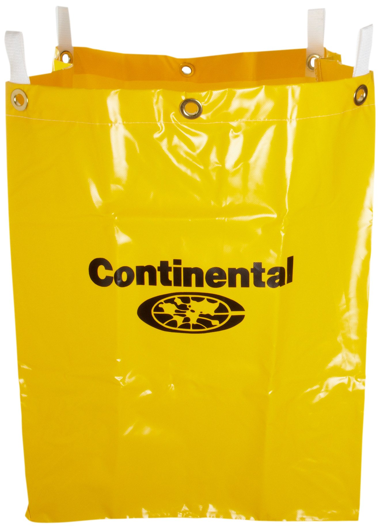 Continental 276 Yellow Vinyl Replacement Bag for 275 Cart by CONTINENTAL