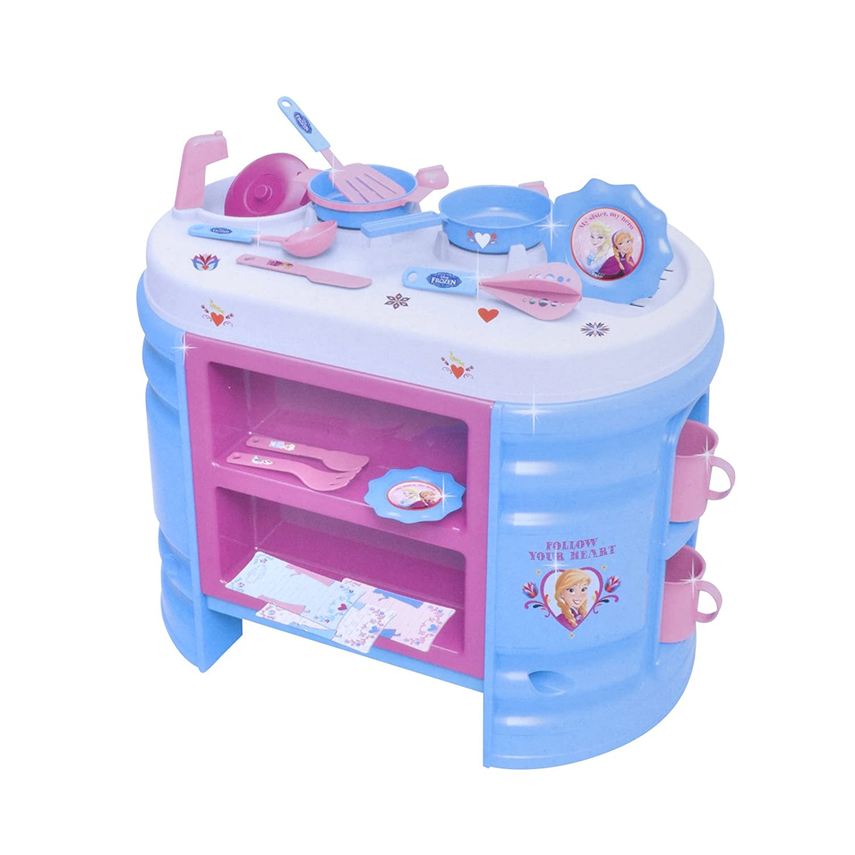 Disney Gran cocina Frozen, referencia RLP-001, con accesorios y figuras de acción: Amazon.es: Juguetes y juegos