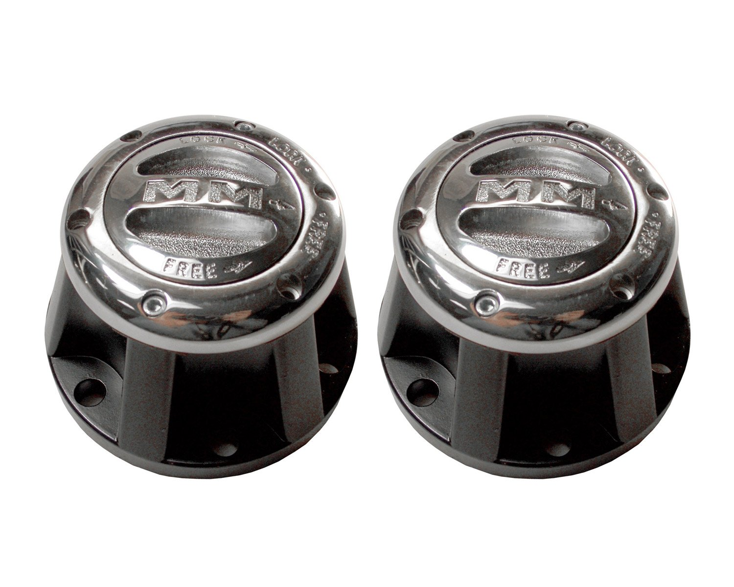 Mile Marker 457 Premium Manual Locking Hub Set