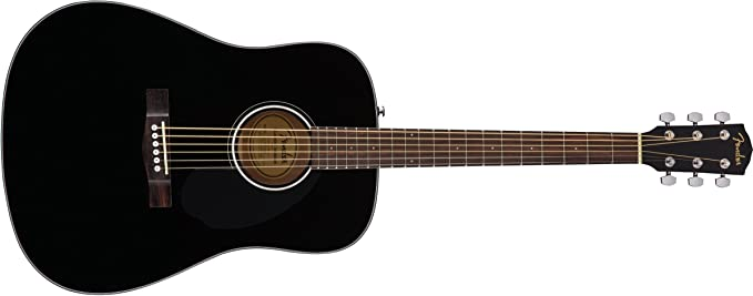 Fender Cd-60s negra: Amazon.es: Instrumentos musicales
