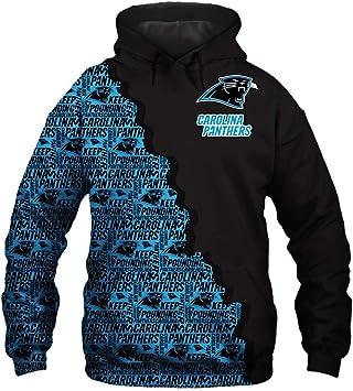 ATI HSKJ Carolina Panthers Shirt À Capuche Homme Pull