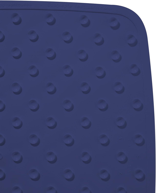 Ridder Capri 66243S-350 Tapis de douche Bleu marine 54 x 54 cm