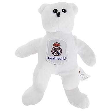 REAL MADRID Oficial oso gorrita blanca