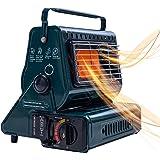 Hotaitai Outdoor Butane Heater Portable Propane Heater Adjustable Outdoor Gas Heaters with Convenient Handle for Ourdoor Camp