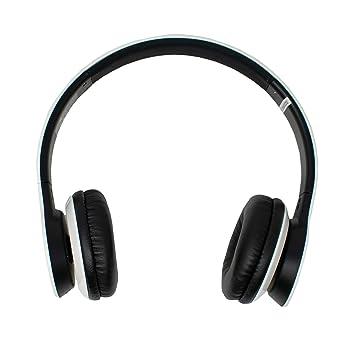 iChoose® Blanco Auriculares Inalámbricos Bluetooth Estéreo con Micrófono para El Teléfono Móvil / Smartphone /