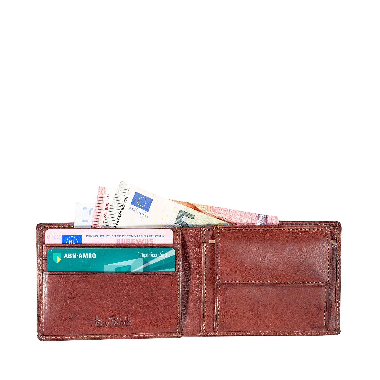 Geldbörse Klein, Farbe Braun: : Koffer, Rucksäcke