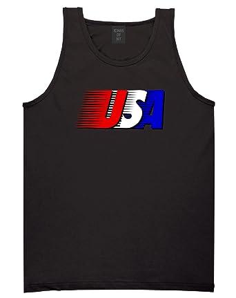 5516f4cd412e7 ... Fourth Of July USA Mens Tank Top Shirt at Amazon Men s Clothing store