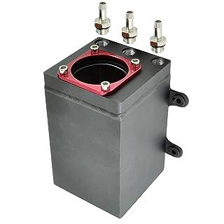 hellschwarz, WEIWEITOE High Performance Cafe Racer Gas Tank Universal Eisen Kraftstofftank BOBBER F/ür Suzuki GN125 GN250 GN Einfach zu Installieren