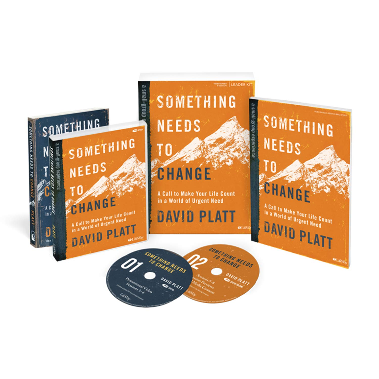 Something Needs to Change - Leader Kit by Lifeway Church Resources