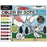 Melissa & Doug 4006 Color by Dots, Multicolor