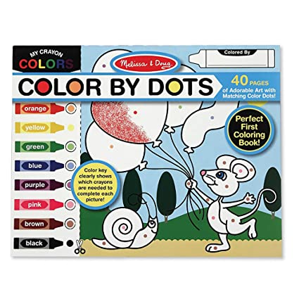Melissa & Doug 4006 Color by Dots, Multicolor