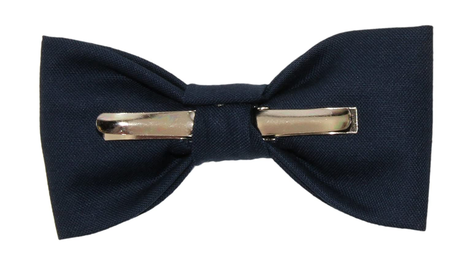 Toddler Boy 3T 4T Navy Blue Clip On Cotton Bow Tie Bowtie by amy2004marie 110164