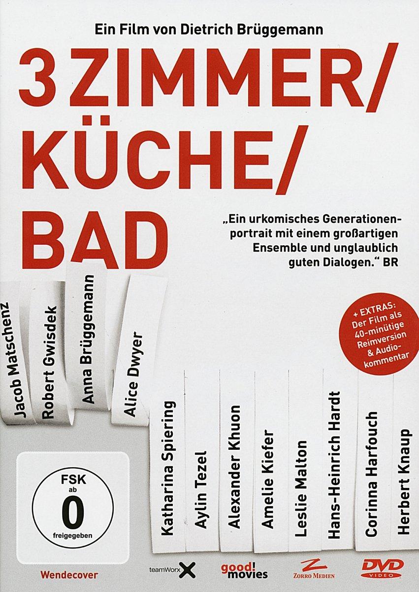 3 Zimmer/Küche/Bad: Amazon.de: Jacob Matschenz, Anna Brüggemann, Robert  Gwisdek, Alice Dwyer, Alexander Khuon, Aylin Tezel, Katharina Spiering, ...