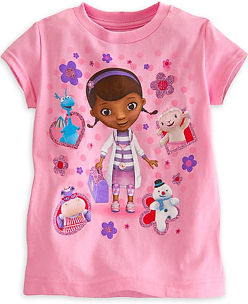 Doc McStuffins Cuddle Girl/'s T-Shirt
