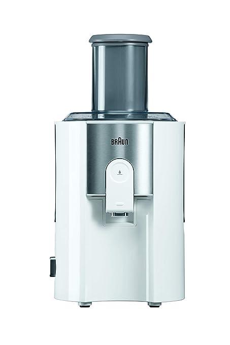 Braun J500 Exprimidora de zumos, 900 W, 1.25 L, 2 velocidades, acero