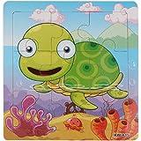 Malloom® Jouets Tortue de Puzzle en Bois Pour Puzzles éducation et D'apprentissage Des Enfants Des Jouets