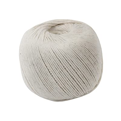Quality Park, 10 Ply String in Ball, Cotton, White, Medium, 475 Feet (46171) : Twine : Office Products