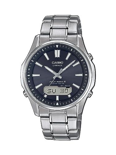 CASIO Reloj Analógico para Hombre de Cuarzo con Correa en Titanio LCW-M100TSE-1AER: Amazon.es: Relojes
