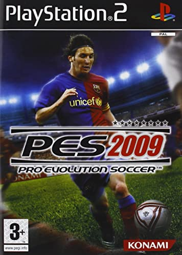 Video Games & Consoles Pes 2009 Ps2 Custodia E Istruzioni Pro Evolution Soccer