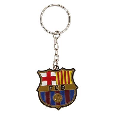 Barcelona F.C. Crest Keyring: Amazon.es: Deportes y aire libre