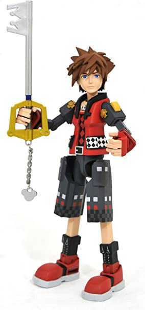 Valor Form Sora Disney Kingdom Hearts diamant Select Jouets Jeu Action Figure