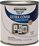 Rust-Oleum 1990730 Painters Touch Latex,  1/2-Pint, Flat White