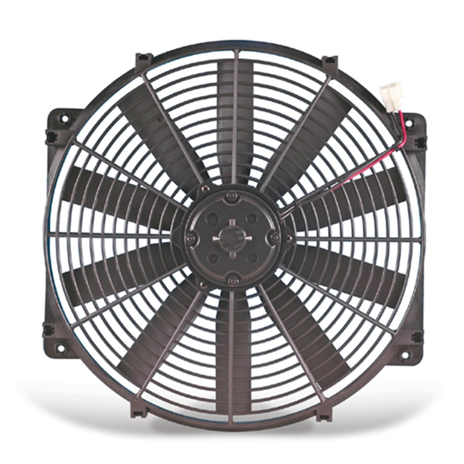 Flex-a-lite 11224 Black 12' 24V Reversible Electric Fan