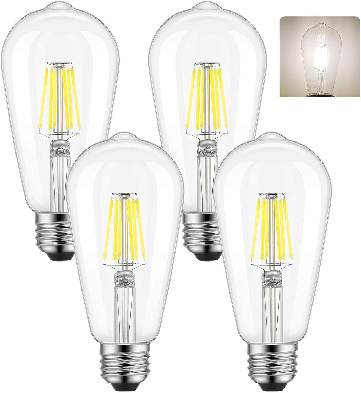 UK 40w Lamp Bulb Edison Retro Vintage Filament Light ES//E27-BC