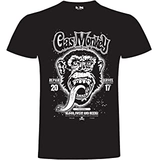 Gas Monkey Garage Dallas Texas T-Shirt (3 Extra Large): Amazon ...