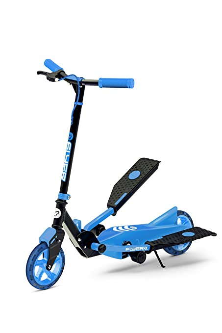 a96772d7eab88 Yvolution Y Flyer Kids Pedaling Stepper Scooter - Suitable for Ages 7 and  Over