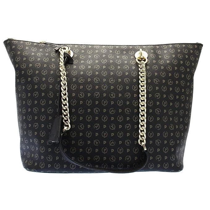 65ae9dbb69 BORSA DONNA POLLINI SHOPPING BAG TAPIRO NERO TE8410 216: Amazon.it:  Abbigliamento