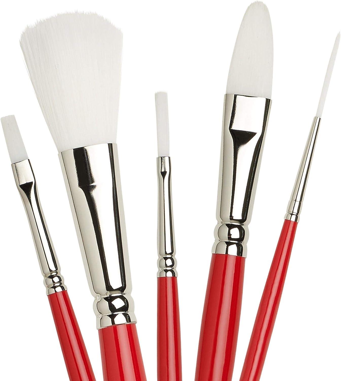 Winsor /& Newton University Series 238 Fan Long Handle Brush Size 6