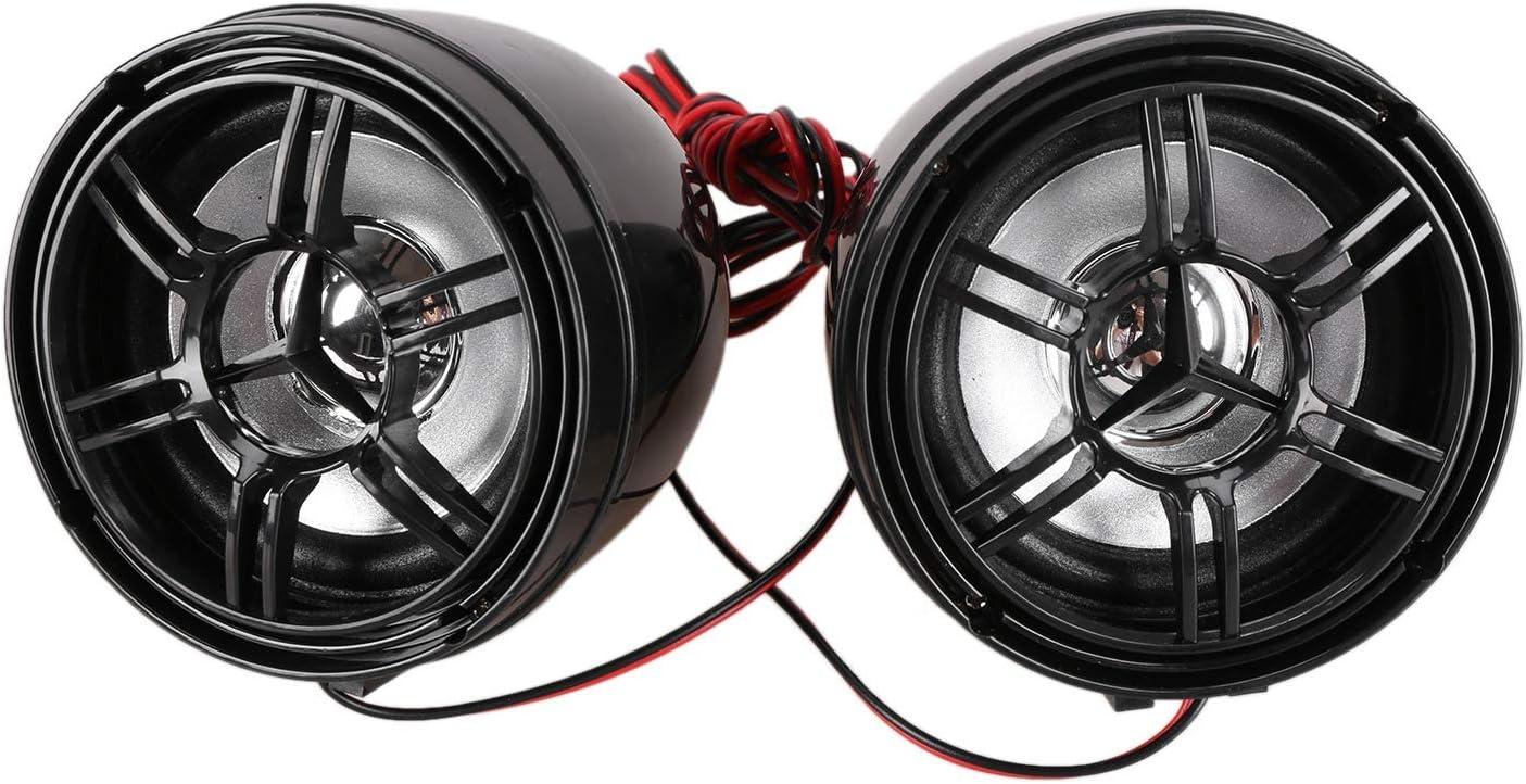 Camisin Reproductor De Musica Mp3 De Motocicleta Altavoz Est/éReo Manos Libres De Audio Sistema De Audio Impermeable De Radio FM