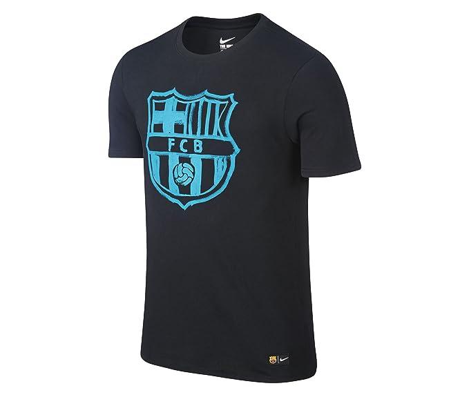 Nike Crest tee - Camiseta de Manga Corta Línea F.C. Barcelona para ...