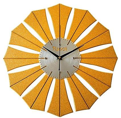 TXXM Relojes de pared Ferris Rueda de Arte Reloj de Pared Reloj de Pared Creativa Reloj