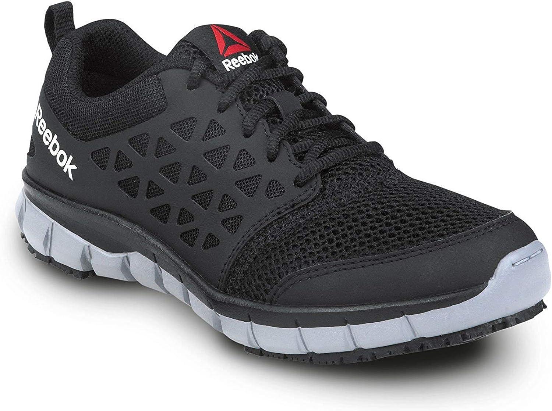 Separar Leche Charlotte Bronte  Amazon.com: Reebok Work Sublite Cushion Work Women's Slip Resistant Soft  Toe Athletic: Shoes