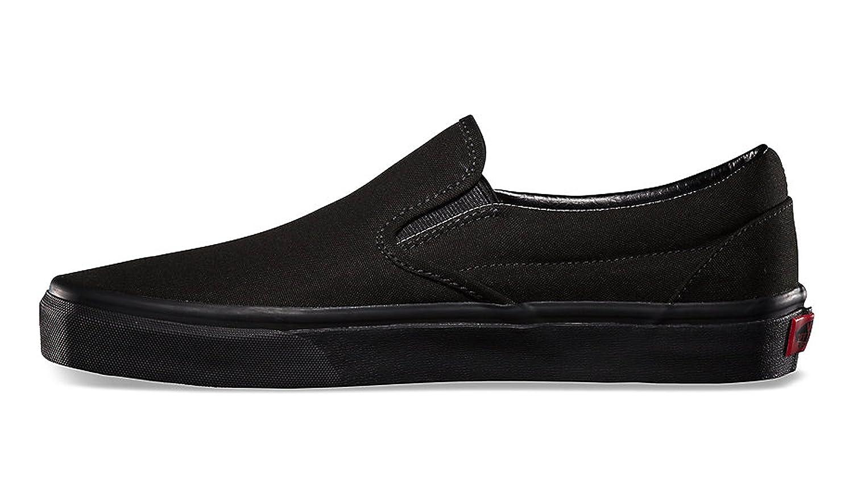 vans classic black black