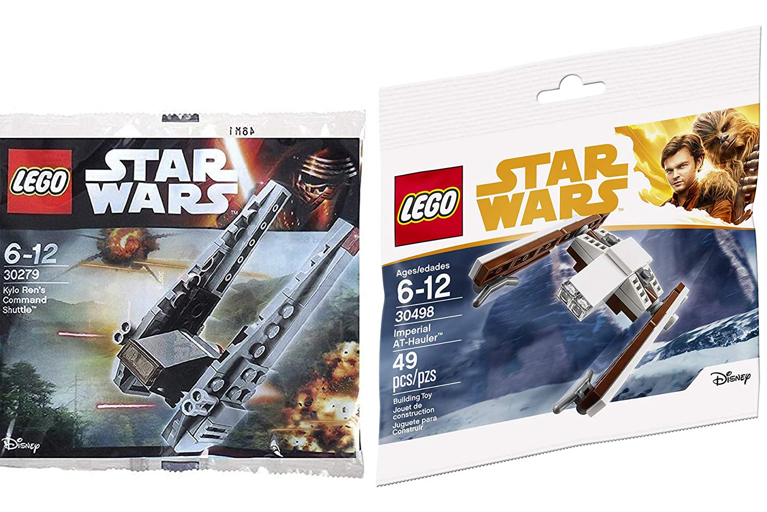 Amazoncom Lego Star Wars Mini Ship Pack Imperial At Hauler 30498