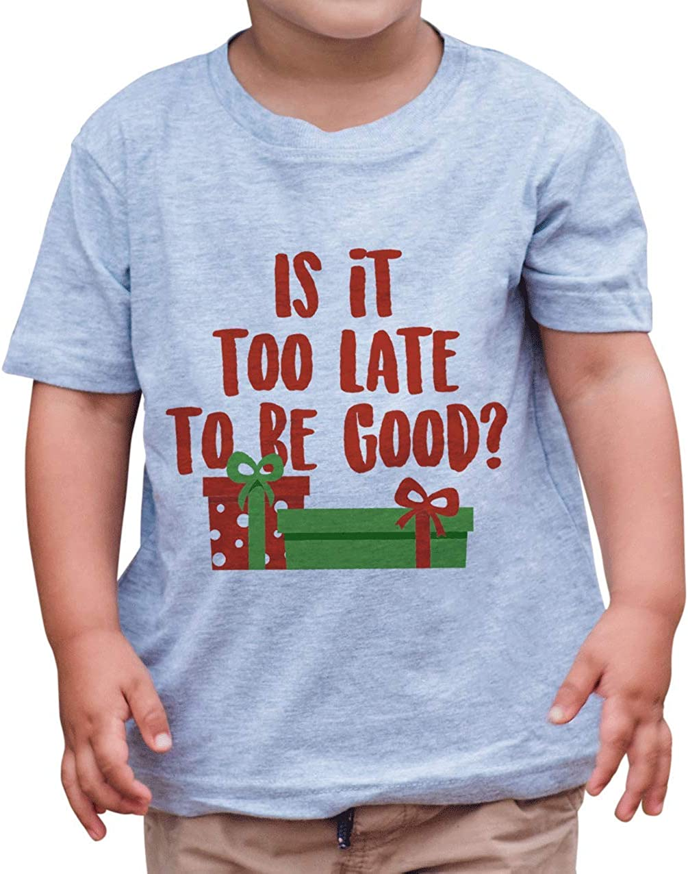 7 ate 9 Apparel Kids Funny Christmas T-Shirt