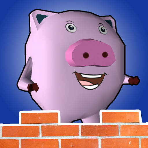 Construction Case Mobile (Pig Brick - the fox attack to the pig's house)