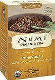 Numi Organic Tea--Honeybush Caffeine Free Herbal Teasan--Premium Organic Non-Caffeinated Tisane--18 Count non-GMO Tea Bags