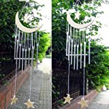Sunfire Fengshui viento blanco Woodstock Jardín Puerta Pared Moon Star