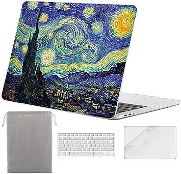 Amazon.com: Sykiila - Funda para MacBook Pro de 13 pulgadas ...