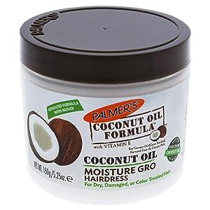 Palmers Coconut Oil Moisture Gro Hairdress Jar 5.25 Ounce (155ml)