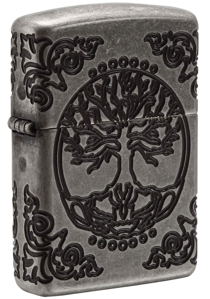 Zippo Armor Tree of Life Design Pocket Lighter