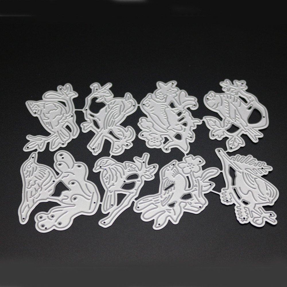 Canifon Diy Metal Cutting Dies Flower Heart Stencils Album Paper Card Scrapbooking Art Stencil